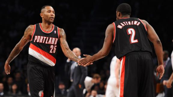 Blazers surge past Nets for 7th straight win