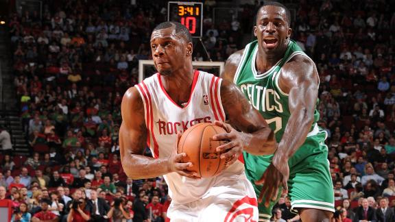 Video - Rockets Cruise By Celtics