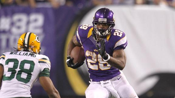 Vikings' Peterson has confidence in Ponder