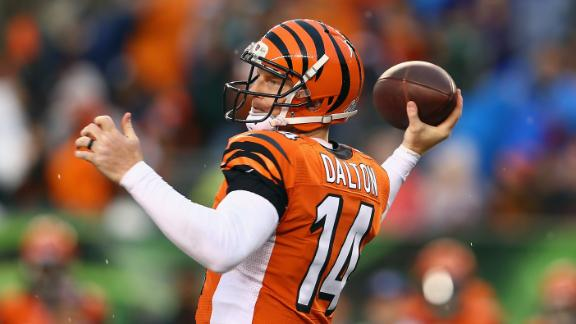 Struggling QB Dalton is 'confident as ever'