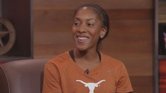 Texas Track Star Hall Defends Regional Crown