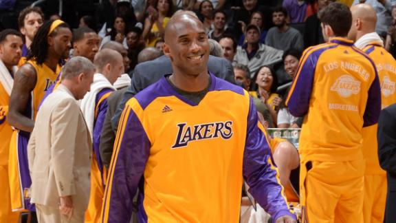 Kobe chooses to skip practice, rest Achilles