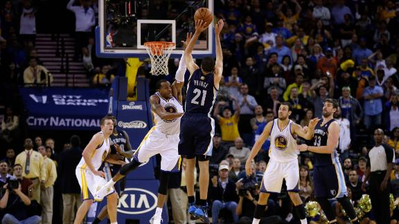 Grizzlies come back to beat Warriors in OT