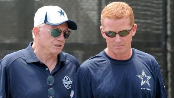 Jones: Garrett will coach Cowboys in '14