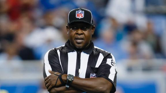 NFL suspends umpire Ellison for 1 game