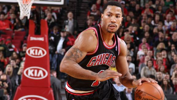 Rose injures other knee; MRI set for Saturday