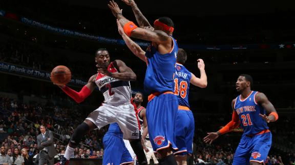 Video - Wizards Hand Knicks Fifth Straight Loss