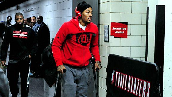 Video - Derrick Rose Out For Season