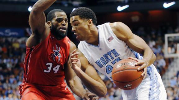 UNC Hold Off Richmond With Strong Second Half