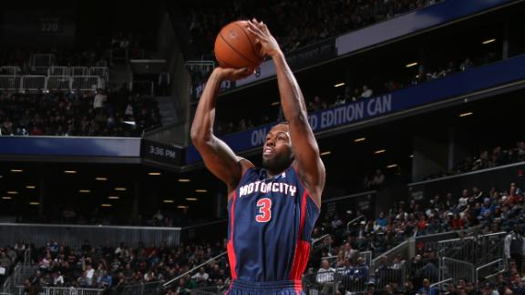 Pistons deal last-place Nets 5th straight loss
