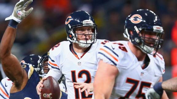 Bears QB Cutler to miss third game in row