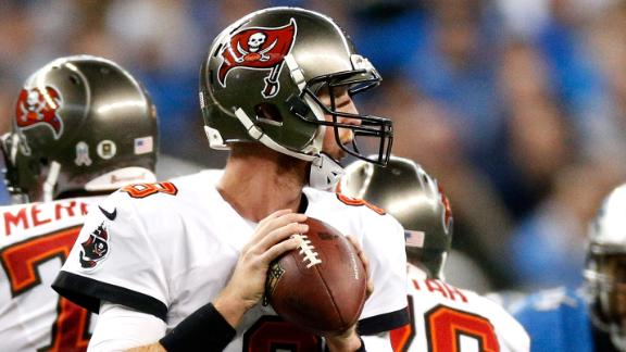 Bucs pick off Stafford 4 times, upset Lions