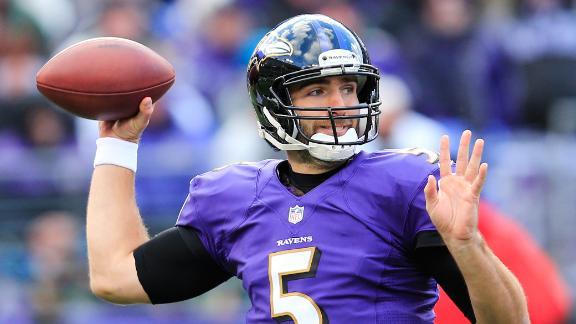 Flacco throws long TD as Ravens drub Jets