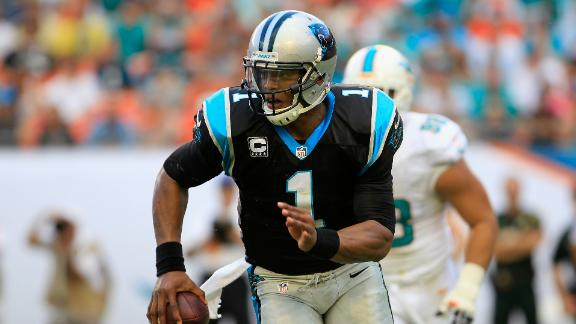 Newton carries Panthers to 7th straight win