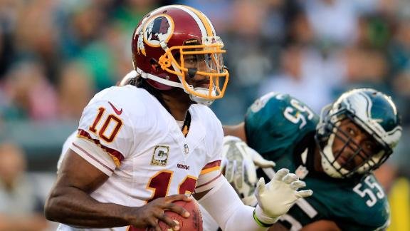 Video - Can RG III Learn From Cam Newton?