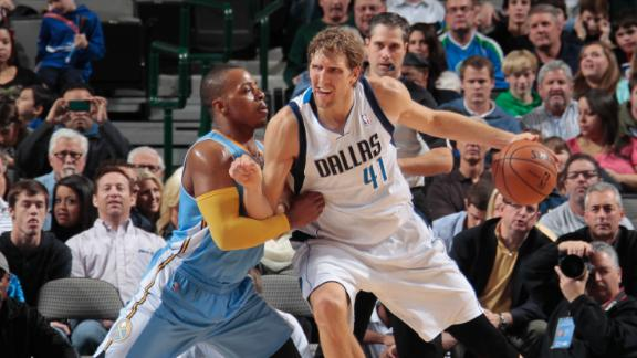 Dirk passes Garnett for 14th on scoring list