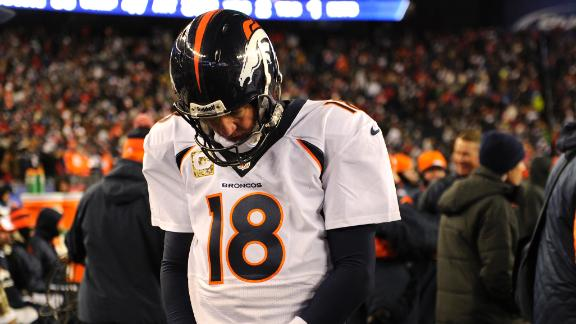 Video - Peyton Manning Not Good Under Pressure