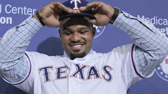 Fielder excited for 'fresh start' with Rangers