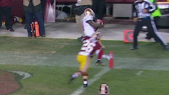 Video - 49ers Lead Redskins After 1st Quarter