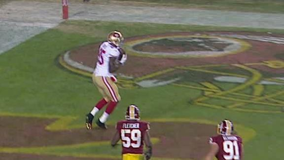Video - 49ers Lead Redskins After 3rd Quarter