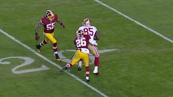 Video - 49ers Lead Redskins At The Half