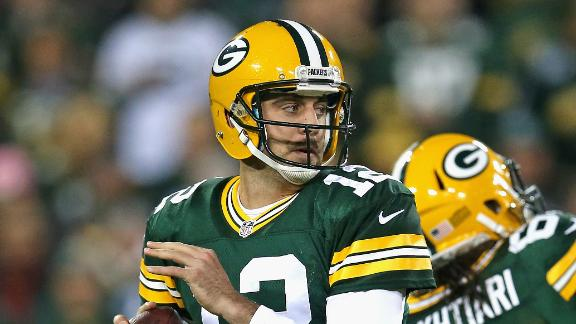Pack don't expect Rodgers return vs. Lions