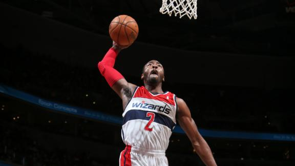 Wall, Nene help Wizards snap Lakers' streak