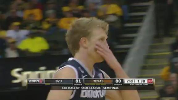 BYU Edges Texas 86-82