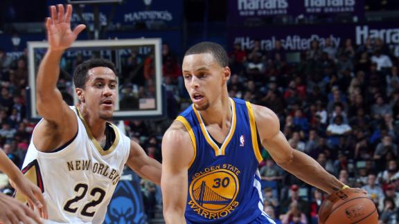 Warriors edge Pelicans, snap 3-game skid