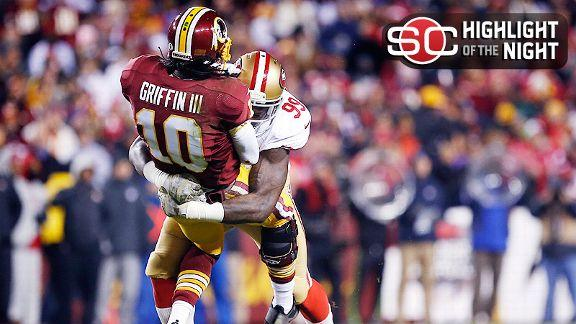 49ers' Brooks: RG III shouldn't be playing