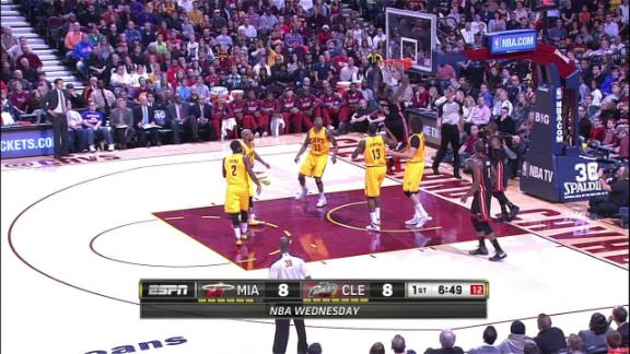 Video - LeBron Throws It Down In Cleveland