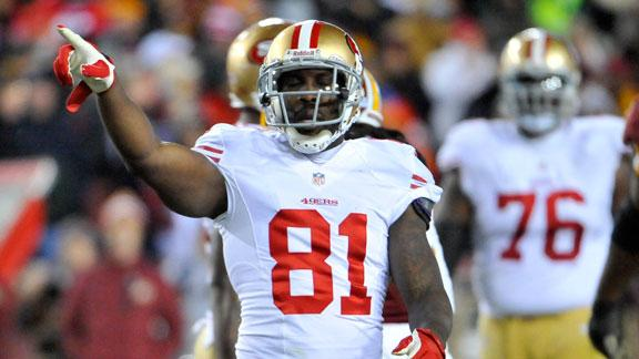 49ers' Crabtree full participant in practice