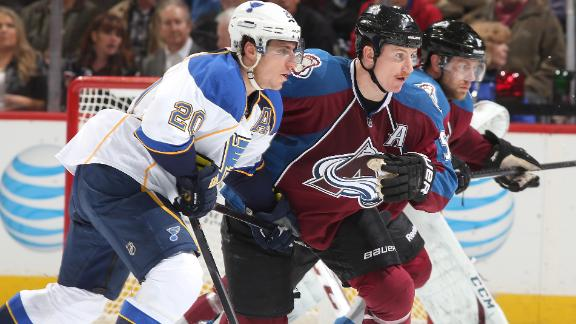 Blues Skate Past Avs