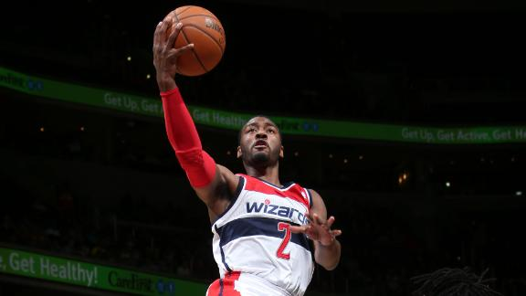 Video - Wall's Double-Double Propels Wizards