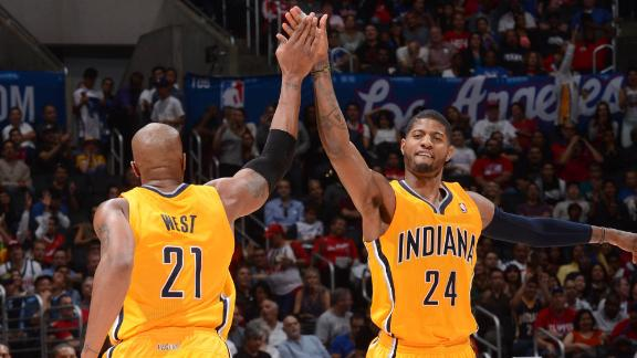 Pacers slip past Clippers to improve to 16-1