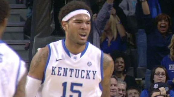 Cauley-Stein has 9 blocks in Kentucky's win