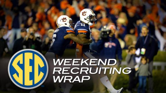 Weekend Recruiting Wrap: SEC - Dec. 2