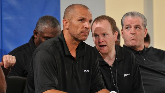 Jason Kidd reassigns Lawrence Frank to reduced role with Brookl…