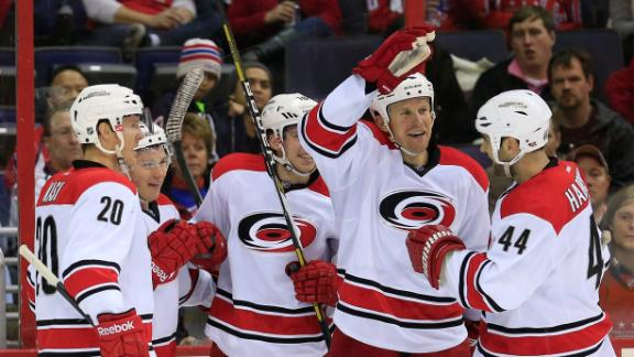 Hurricanes Cruise Past Capitals