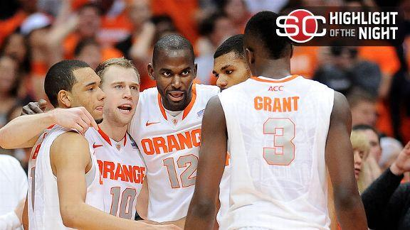 Syracuse Improves To 8-0