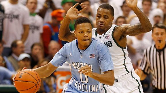 UNC Upsets No. 1 Michigan State