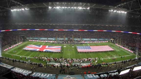 London game starting at 9:30 a.m. ET in '14