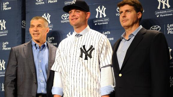 Yankees Introduce McCann