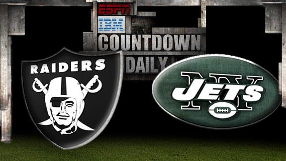 Video - Countdown Daily Prediction: OAK-NYJ