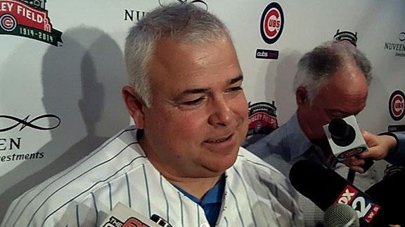 Video - Renteria Excited To Manage Cubs