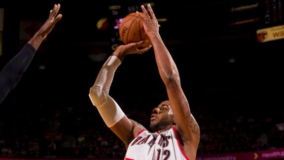 Aldridge's 38 power Blazers over Thunder