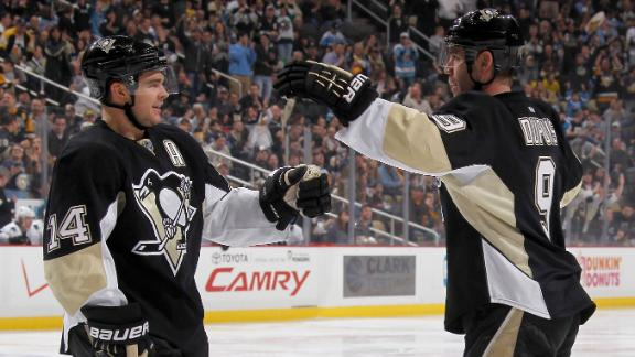 Penguins Overpower Sharks