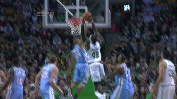 Video - Gerald Wallace slam dunk