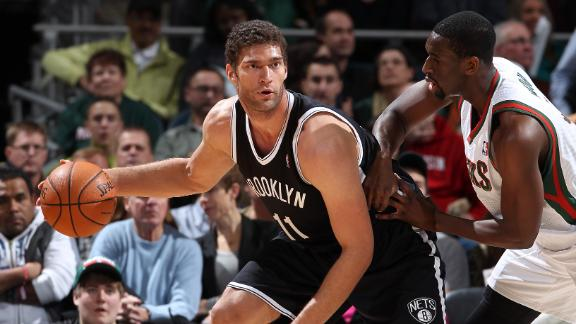 Lopez sharp as Nets beat East-worst Bucks