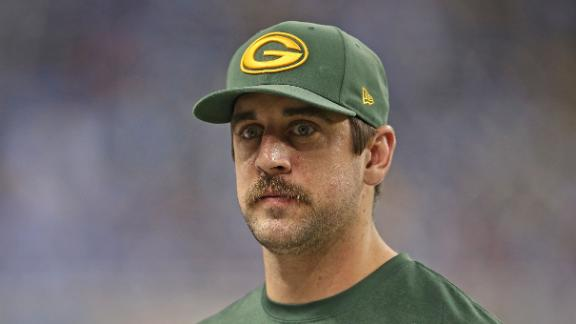 Aaron Rodgers Out Against Falcons